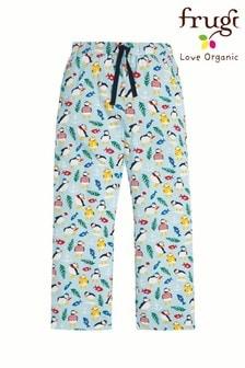 Frugi Organic Puffin Maternity Comfy Pyjama Bottom