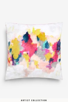 Artist Collection Abstract by Victoria Friend Cushion