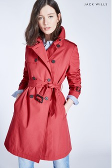 Jack Wills Berry Ambrose Trench