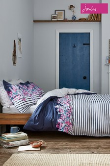 Joules Garden Border Stripe Duvet Cover