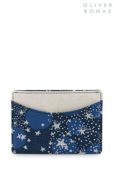Oliver Bonas Blue Galactic Card Holder