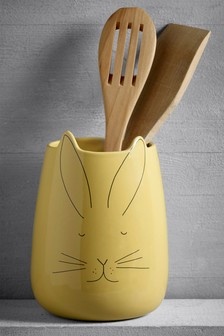 Bunny Utensil Pot