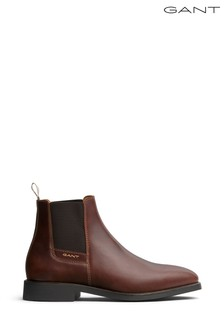 GANT Tan Brown Chelsea Boot