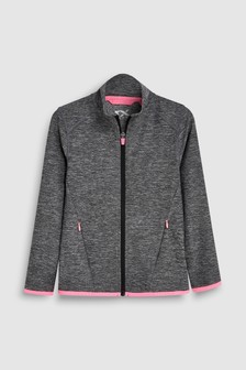 Sport Zip Through Top (3-16yrs)
