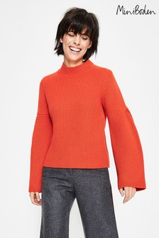 Boden Orange Leah Jumper