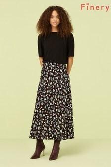 Finery London Multi Alberte Print Midi Skirt