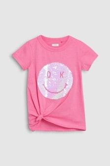 Flippy Sequin Face T-Shirt (3-16yrs)