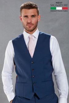 Signature Plain Suit: Waistcoat