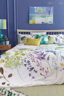 Bluebellgray Botanical Duvet Cover and Pillowcase Set