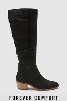 Forever Comfort® Knee High Slouch Boots