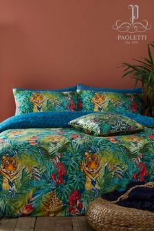 Riva Home Kanha Botanical Duvet Cover and Pillowcase Set
