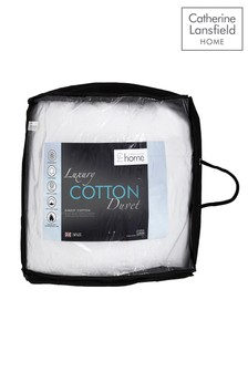 Catherine Lansfield 4.5 Tog Luxury Cotton Duvet