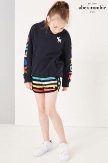 Abercrombie & Fitch Rainbow Stripe Short