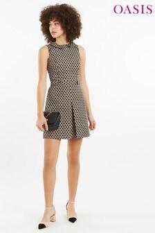 0792f78e838 Oasis Natural Jacquard Shift Dress