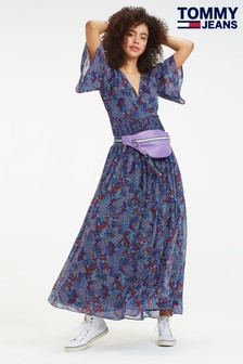 Tommy Jeans Floral Festival Maxi Dress