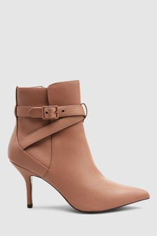 Ankle Strap Boots