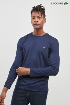 Lacoste® Navy Long Sleeve T-Shirt