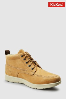 Kickers Tan Kelland Hi Boot