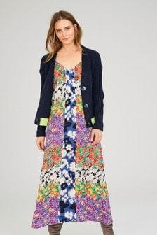 Floral Print Mix Dress