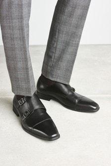 Double Strap Monk Shoe