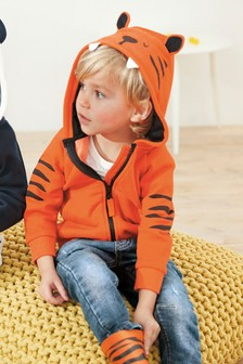 Tiger Character Zip Through (3mths-7yrs)