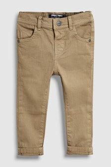 Soft Stretch Twill Trousers (3mths-7yrs)