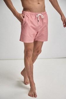 Vertical Stripe Swim Shorts