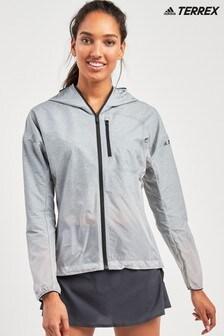 adidas Grey Terrex Wind Jacket