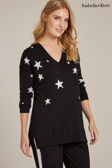 Isabella Oliver Annora Maternity Intarsia Knit