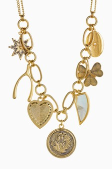 Charm Short Necklace