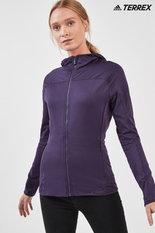 adidas Purple Terrex Trace Jacket