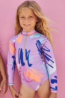 Long Sleeve Swimsuit (3-16yrs)