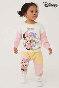 Minnie Mouse Licence Sweater And Joggers Co-ord Set (3mths-7yrs)