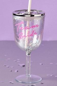 Team Bride Straw Cup