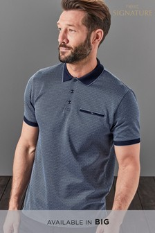 Signature Jacquard Polo