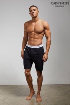 Calvin Klein Black Modern Cotton Sleep Shorts
