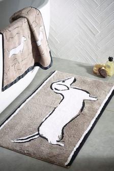 Sausage Dog Bath Mat