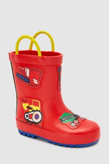 Transport Wellies (Younger)