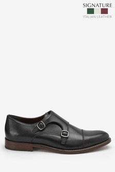 Signature Double Monk Strap Shoe