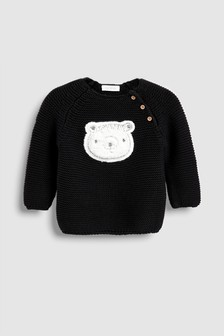 Bear Knit Jumper (0mths-2yrs)