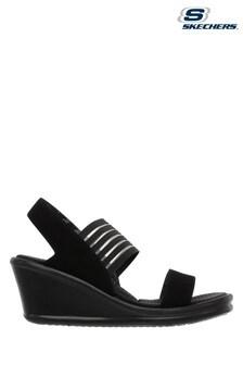 Skechers Black Rumblers Sci Fi Sandals