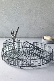 Circular Dish Drainer