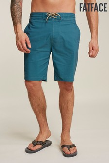 FatFace Green Camber Plain Swimmers