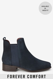 Forever Comfort® Leather Chelsea Boots