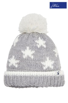 Joules Cream Baby Vega Knitted Hat