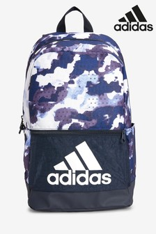 adidas Blue Camo Classic Backpack