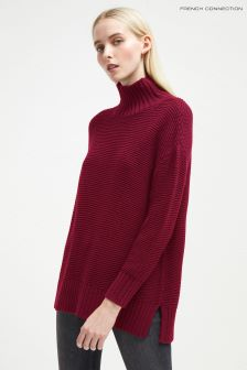 French Connection Berry High Neck Jumper