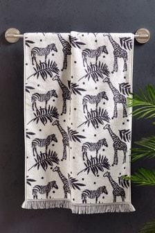 Cream Safari Design Towel