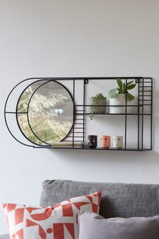 Wire Mirror Shelf