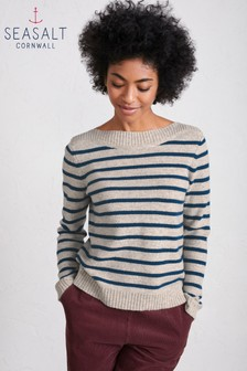Seasalt  Plane Galley Vellum Jumper